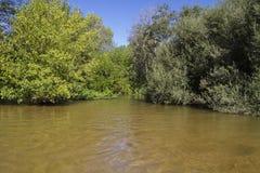 Alberche riverbank in Toledo, Castilla La Mancha, Spain Royalty Free Stock Images