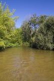 Alberche riverbank in Toledo, Castilla La Mancha, Spain Stock Photos