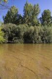 Alberche riverbank in Toledo, Castilla La Mancha, Spain Stock Image