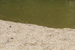 Alberche riverbank in Toledo, Castilla La Mancha, Spain Stock Images