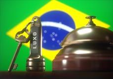 Albergo di lusso del Brasile Immagine Stock