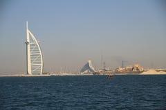 Albergo di lusso del Dubai dell'arabo di Burj fotografia stock libera da diritti