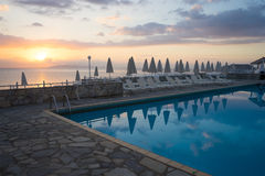 Albergo di lusso Grecia Fotografia Stock