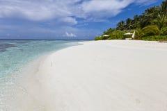 Albergo di lusso in isola tropicale Fotografie Stock Libere da Diritti
