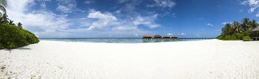 Albergo di lusso in isola tropicale Fotografia Stock Libera da Diritti