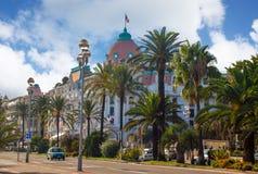 Albergo di lusso Negresco in Nizza sulla costa azzurrata, Francia Fotografia Stock