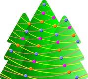 Alberi di Natale Fotografie Stock