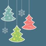 Alberi di Natale Fotografie Stock Libere da Diritti