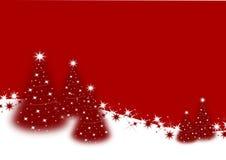 Alberi di Natale Immagini Stock