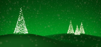Alberi di Natale fatti degli indicatori luminosi illustrazione vettoriale