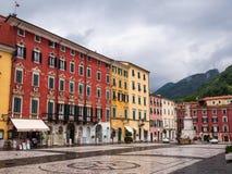 Alberica-Quadrat in der Stadt von Carrara Stockfoto