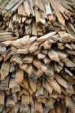 Alberini di legno della rete fissa immagine stock libera da diritti