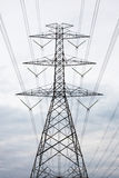 Alberino ad alta tensione elettrico di potenza Fotografia Stock Libera da Diritti