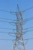 Alberino ad alta tensione elettrico di potenza Fotografie Stock Libere da Diritti