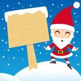 Alberino del Babbo Natale Immagine Stock Libera da Diritti