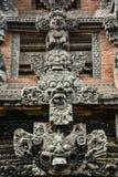 Albern Sie Tempel im Bali-Affewald, Indonesien herum Lizenzfreies Stockfoto