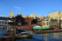Alberni de abertura do porto Imagens de Stock