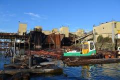 Alberni di collegamento del porto Immagini Stock