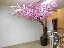 Albero artificiale di Cherry Blossom Immagini Stock Libere da Diritti