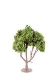Albero artificiale miniatura Fotografie Stock Libere da Diritti