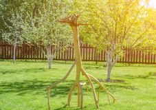 Albero asciutto invertito sotto forma di cervo immagini stock libere da diritti