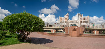 Albero a Astana fotografie stock libere da diritti