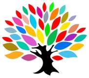 Albero Colourful illustrazione vettoriale