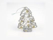 Albero d'argento di mas del ` di X Fotografie Stock