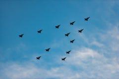 Albero degli aeroplani Immagini Stock Libere da Diritti