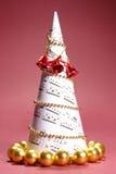 Albero del canto natalizio di natale Fotografia Stock Libera da Diritti