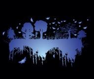 albero del cielo Immagine Stock
