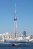 Albero del cielo di Tokyo Fotografie Stock Libere da Diritti