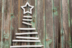 Albero del nuovo anno Fotografia Stock Libera da Diritti