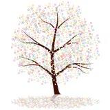 Albero del puntino illustrazione vettoriale