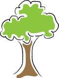 albero dell'illustrazione Fotografia Stock Libera da Diritti