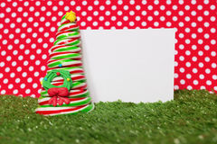 Albero della caramella di Natale Fotografie Stock