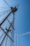 Albero della nave Fotografia Stock