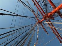 Albero della nave di navigazione Siedow Immagine Stock
