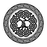 Albero della vita celtico Fotografia Stock
