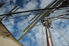 Albero delle navi Fotografie Stock