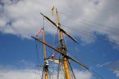 Albero delle navi Fotografie Stock Libere da Diritti