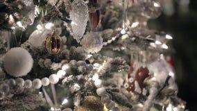 Albero di abete di Christmass archivi video