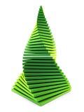 albero di abete simbolico del nuovo anno 3d Fotografie Stock