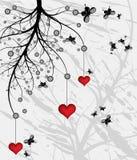 Albero di amore Fotografia Stock