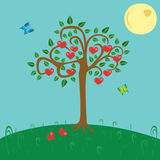 Albero di amore royalty illustrazione gratis