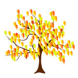Albero di autunno illustrazione di stock