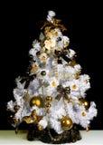 Albero di bianco di Natale Fotografie Stock Libere da Diritti