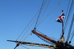 Albero di bompresso della nave di navigazione Fotografia Stock Libera da Diritti