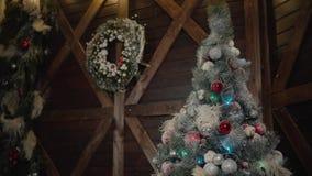 Albero di Christmass Decorazione dei giocattoli Illuminazione del buon anno