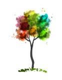 Albero di colore illustrazione vettoriale